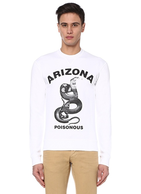 Dsquared2 Sweatshirt Beyaz